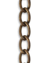 Curb Chain, 6.3x10.7mm , (1ft)