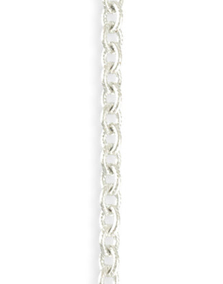 Etched Cable Chain, 4.1x5.1mm, (1ft)