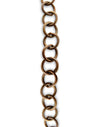 Round Link Chain, 10.2x10.5mm, (1ft)