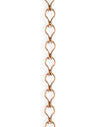 Ladder Chain, 3.7x6.6mm, (1ft)
