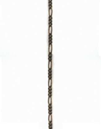 Figaro Chain, 2.1x5.9mm, (1ft)