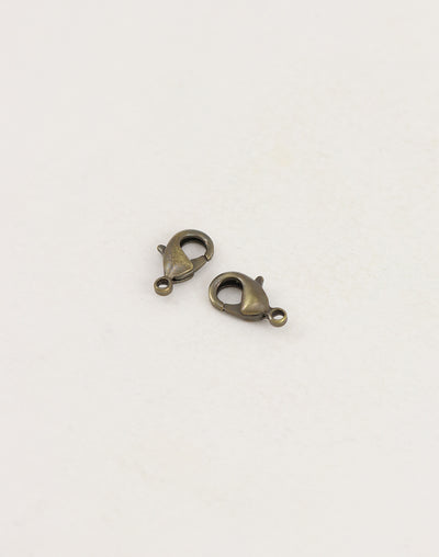 Lobster Clasp, 12mm, (2pcs)