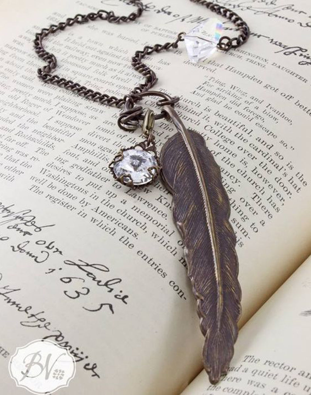 Clarity Feather Necklace Interchangeable Set