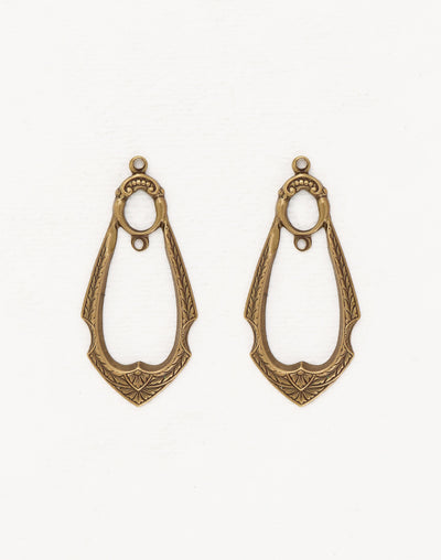 Gypsy Drop, 42x19mm, (2pcs)