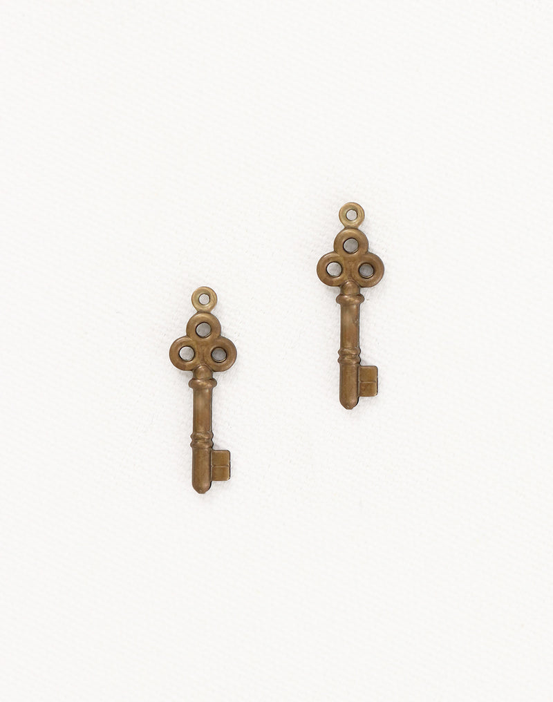 Puff Key, 24x8mm, (2pcs)