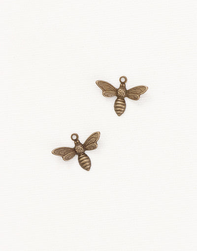 Busy Bee, 13x17mm, (2pcs)
