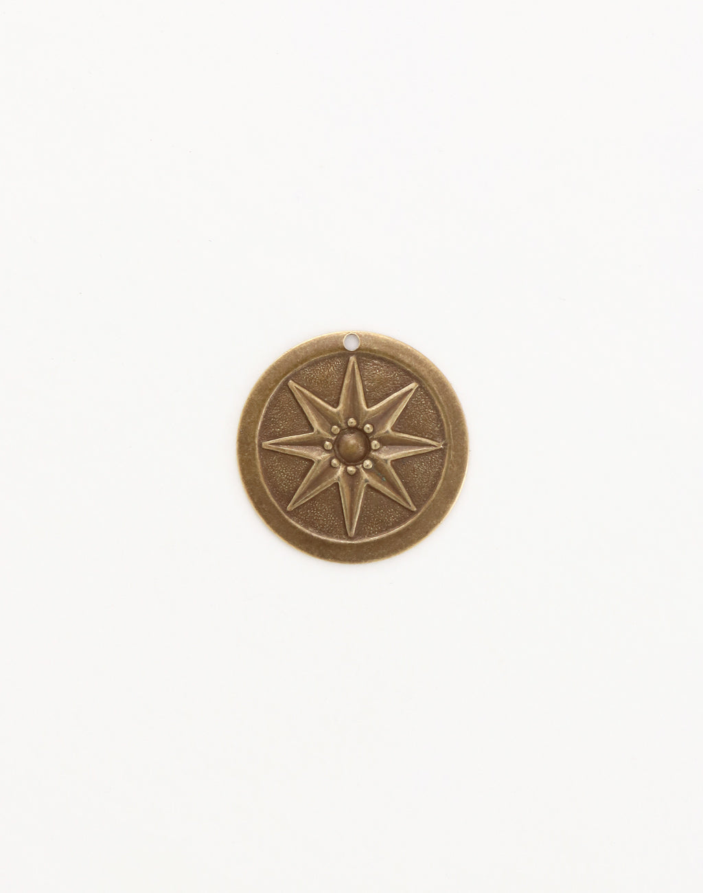 Compass Star, 21.5mm, (1pcs)