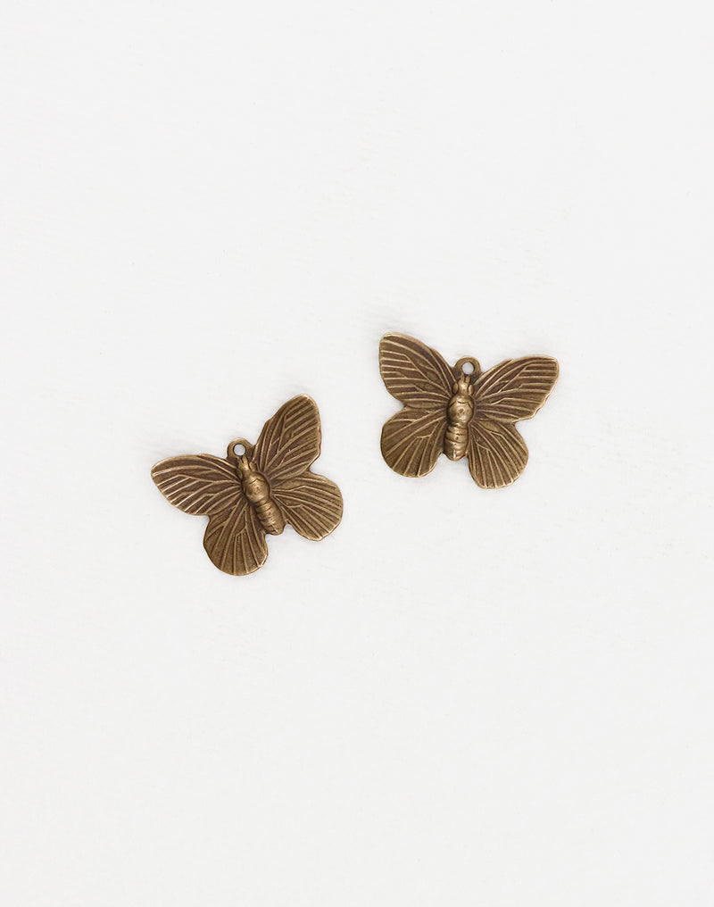 Butterfly, 19x15mm, (2pcs)