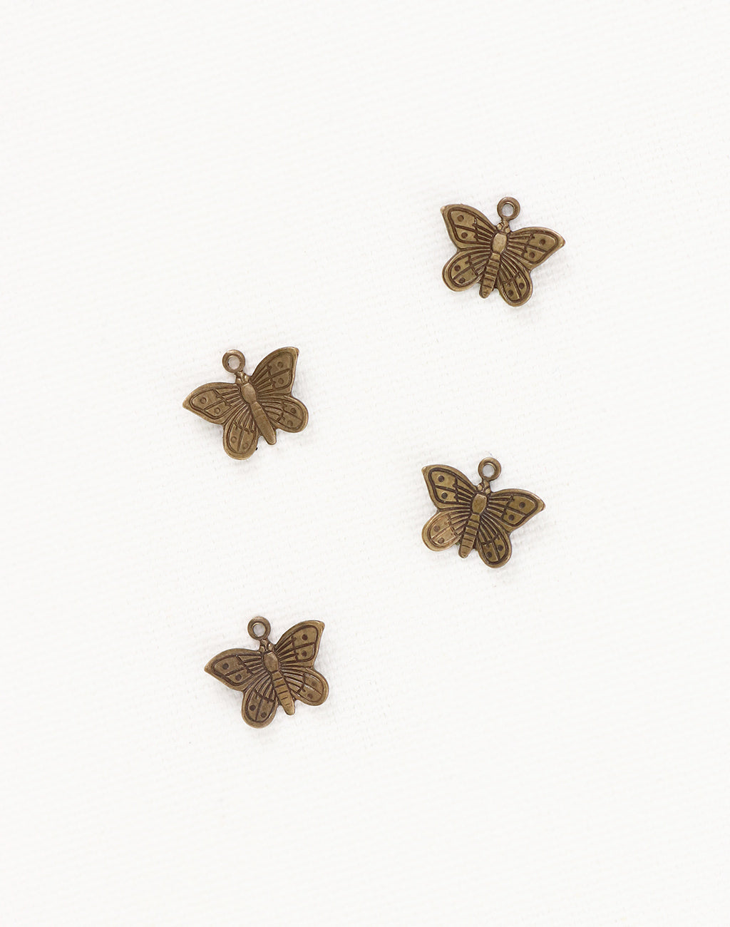 Teensie Butterfly, 11x9mm, (4pcs)
