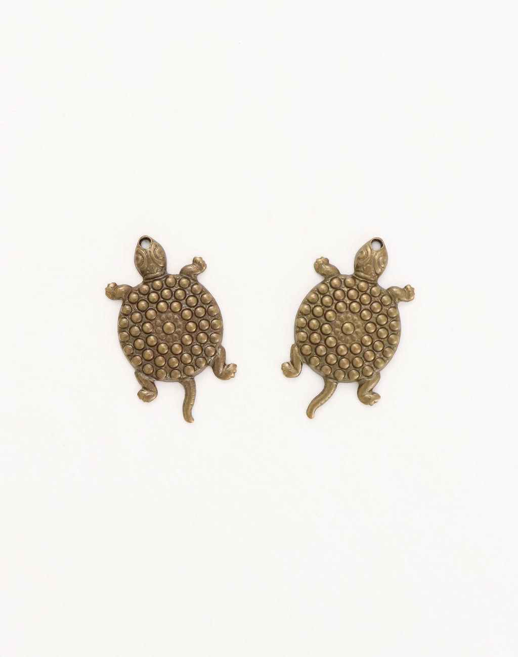 Santa Fe Turtle, 25x14mm, (2pcs)