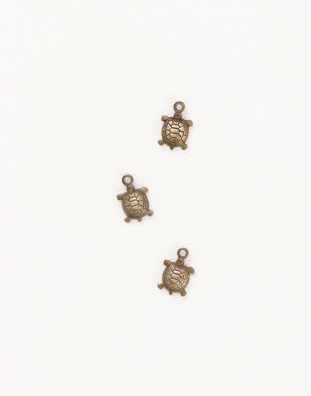 Teensie Turtle, 10x7mm, (3pcs)