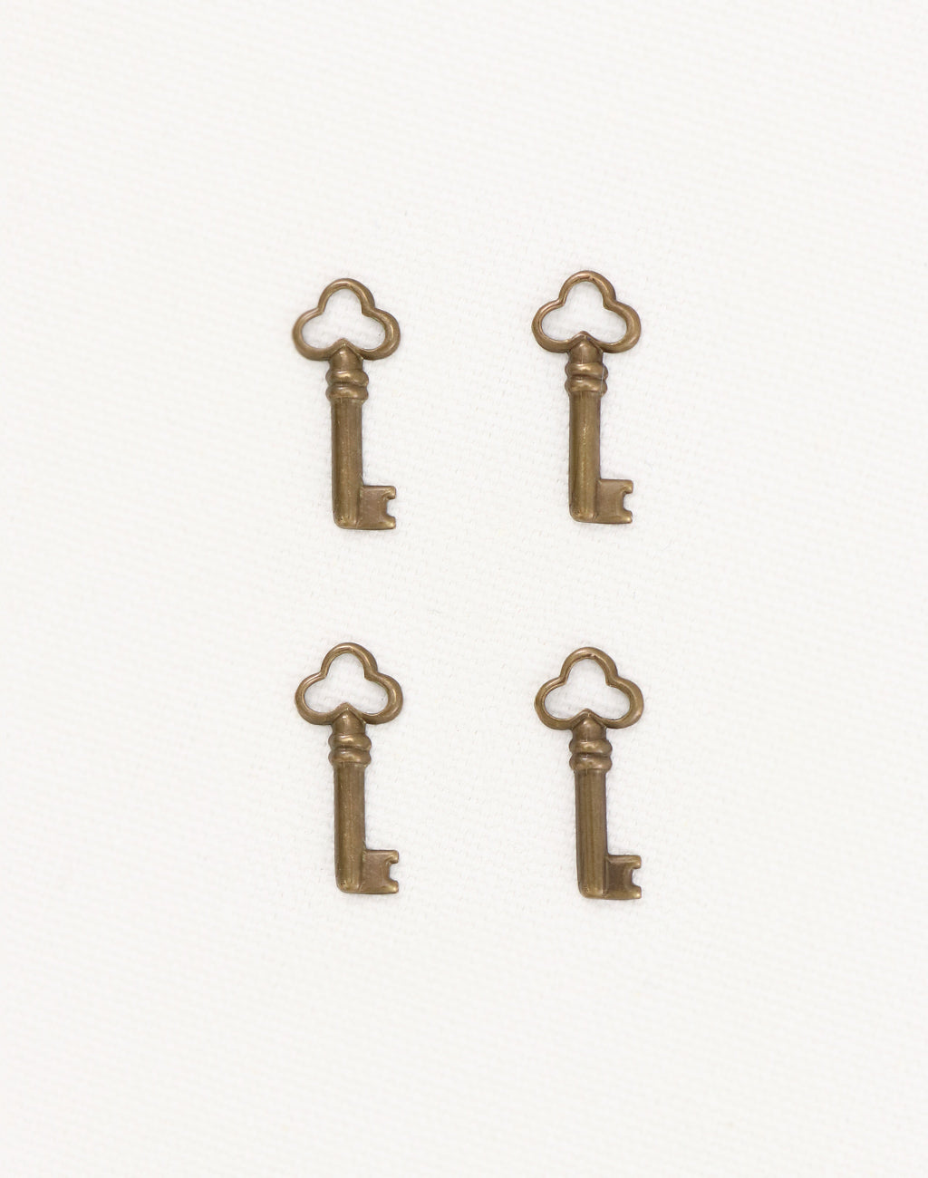 Teensie Key, 18x8mm, (4pcs)