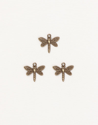 Princess Dragonfly, 12x13mm, (3pcs)