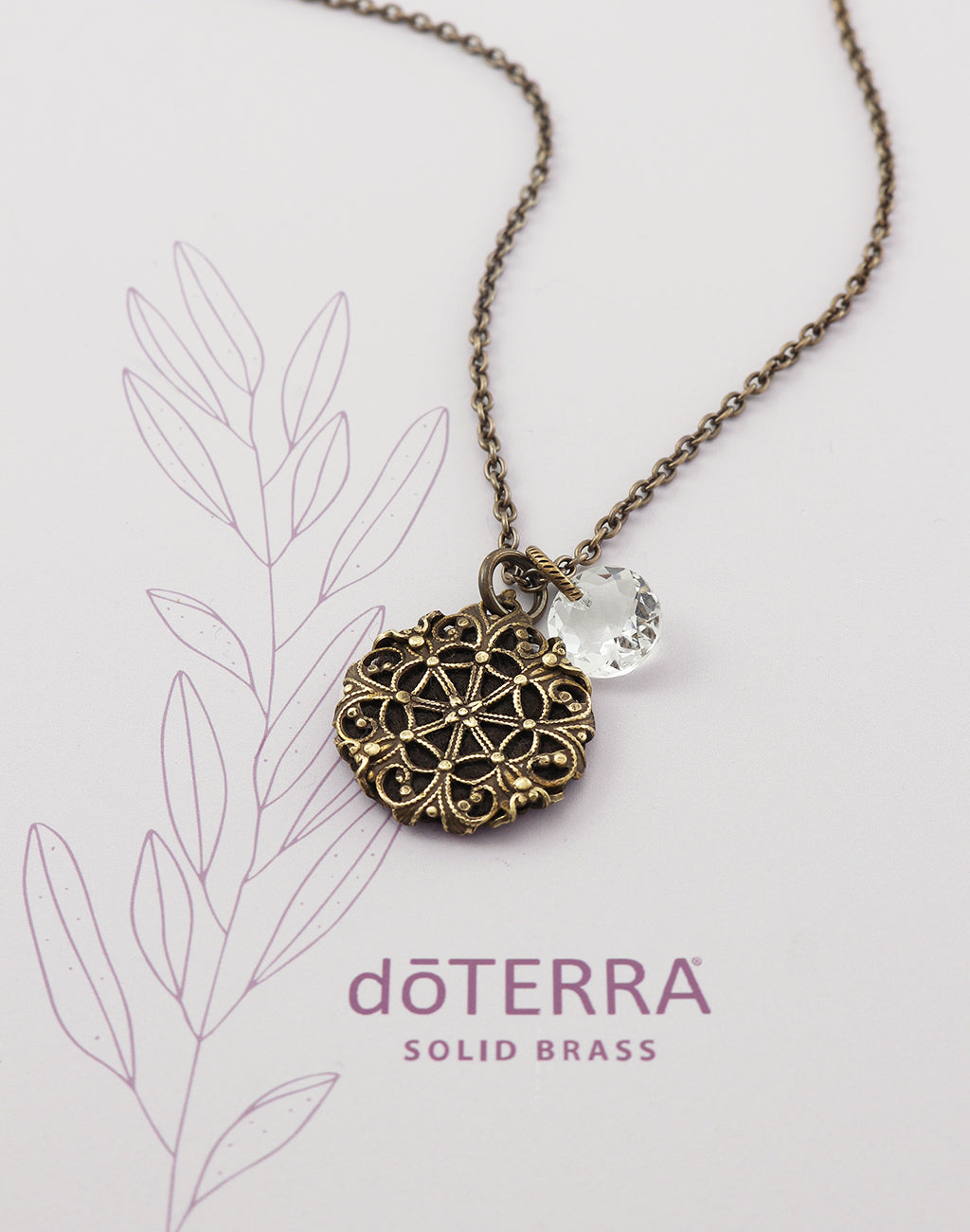 doTERRA DIRECTION Diffuser Necklace