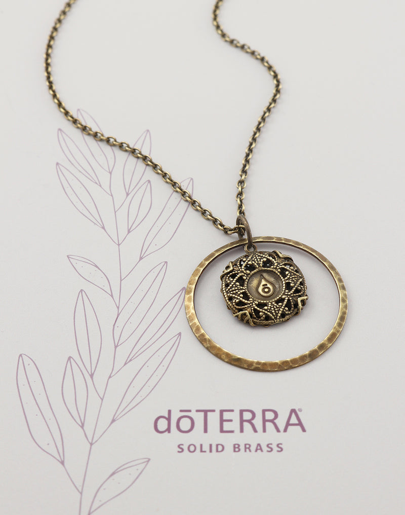 doTERRA STRENGTH Diffuser Necklace