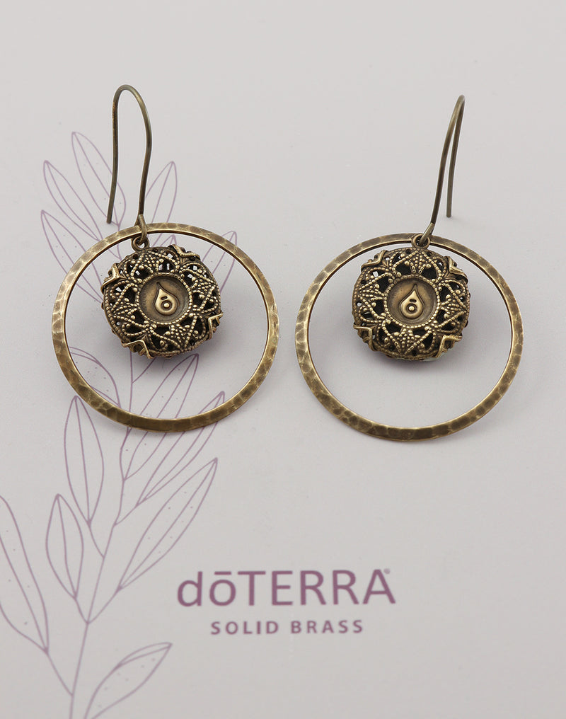 doTERRA STRENGTH Diffuser Earrings