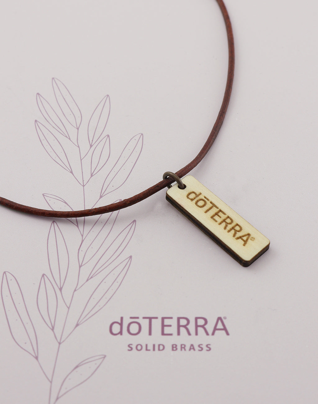 doTERRA EXPEDITION Wood Diffuser Necklace
