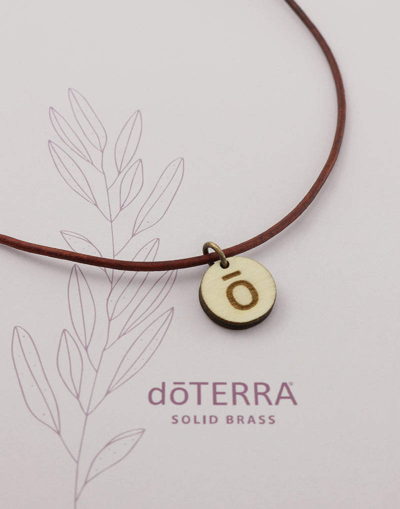 doTERRA JOURNEY Wood Diffuser Necklace