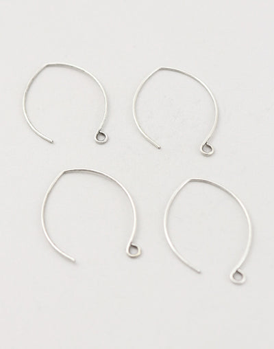 Marquise Ear Wires, 35mm, (4pcs)