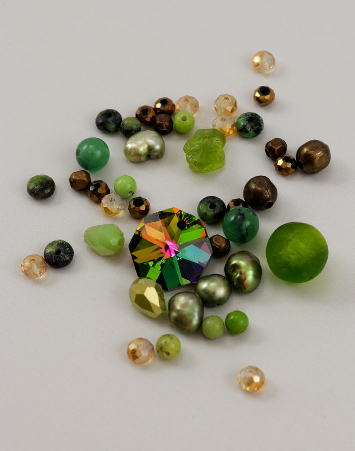 Enchanted Forest Bead Mix