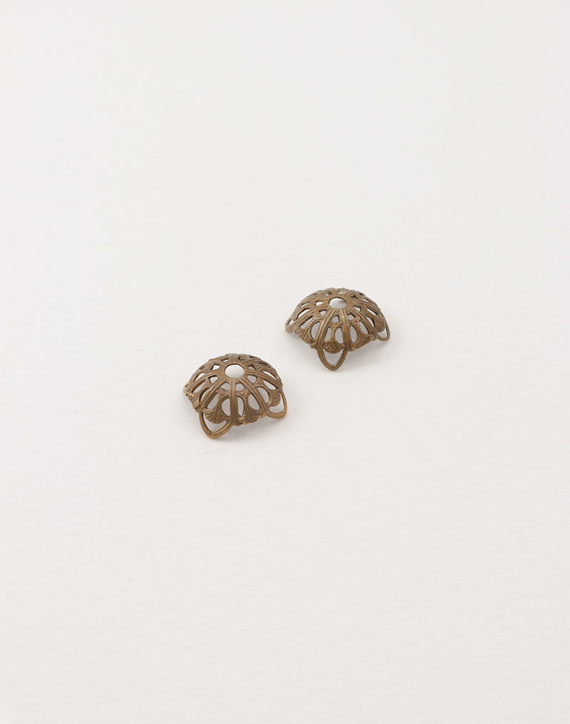 Dapped Filigree, 13mm, (2pcs)