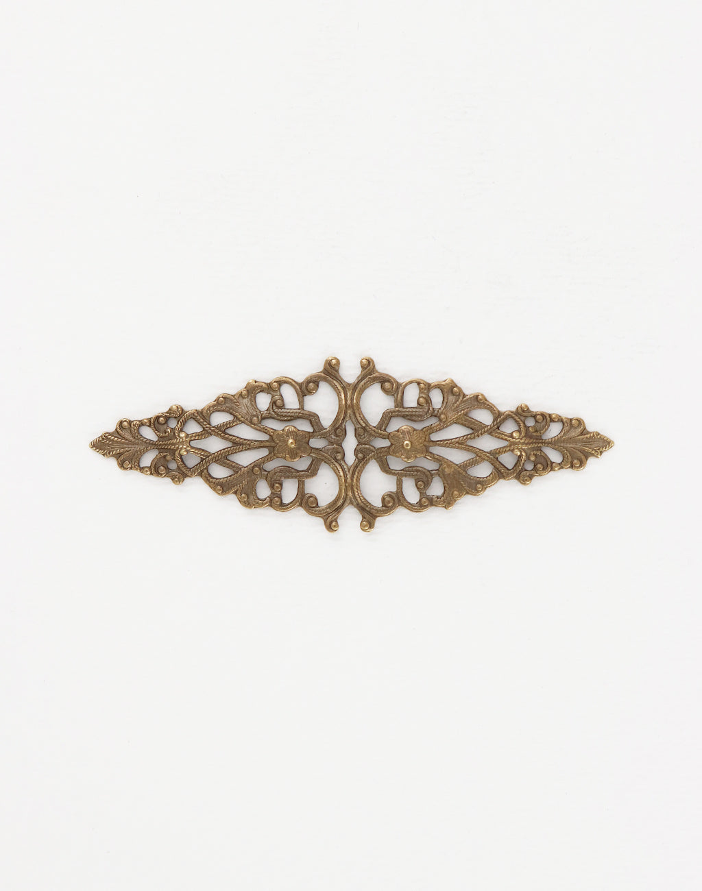 Diamond Trellis Filigree, 64x21mm, (1pc)