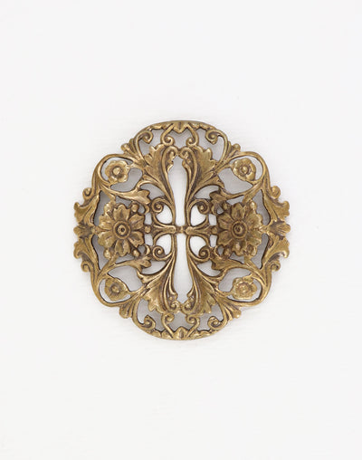 Trellis Filigree, 40mm, (1pc)