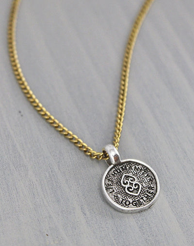 """Lift Humanity"" Necklace, (1pc)"