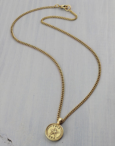 """This One"" Necklace, (1pc)"