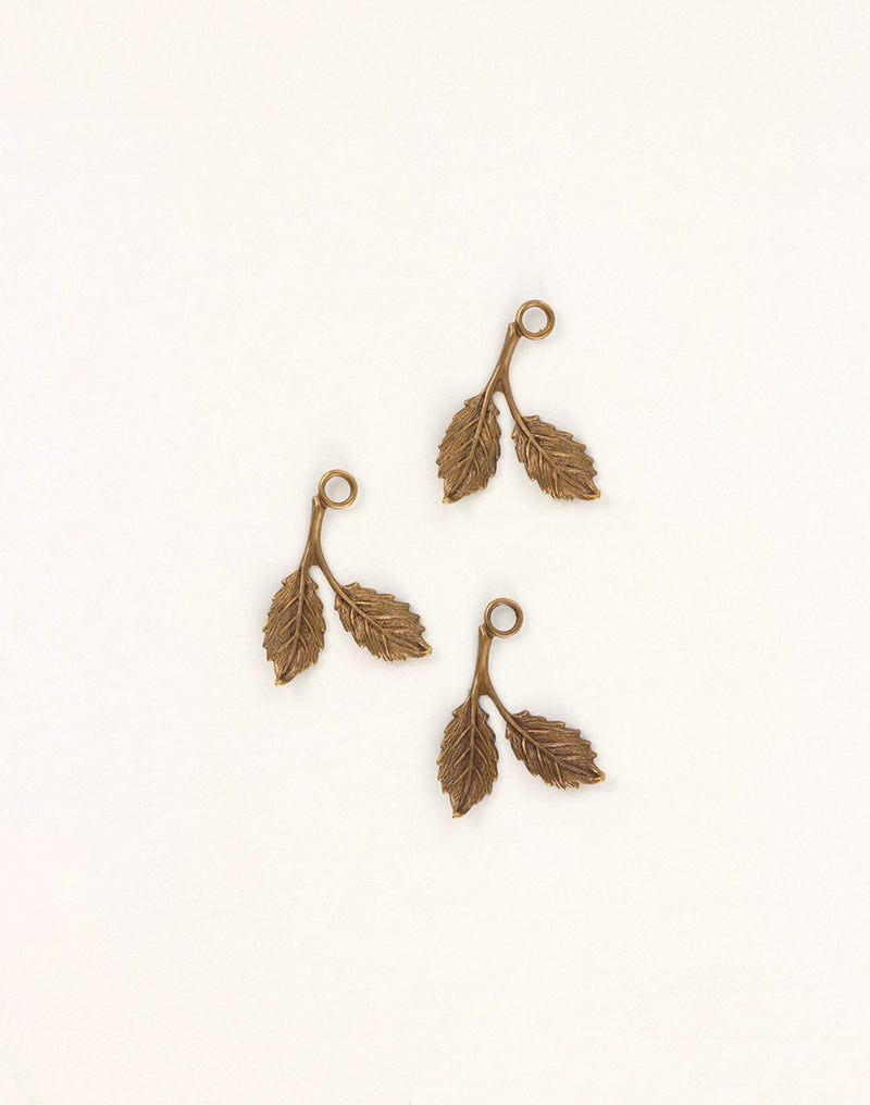 Beech Leaf, 23x16mm, (3pcs)