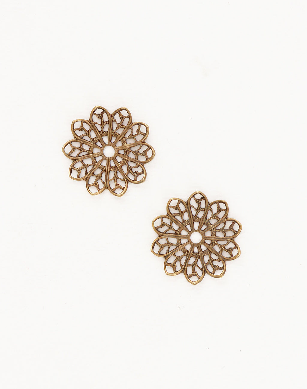 Filigree Flower, 21mm, (2pcs)