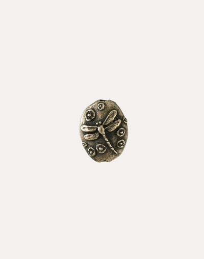 Dragonfly Pebble, 22x17mm, (1pc)