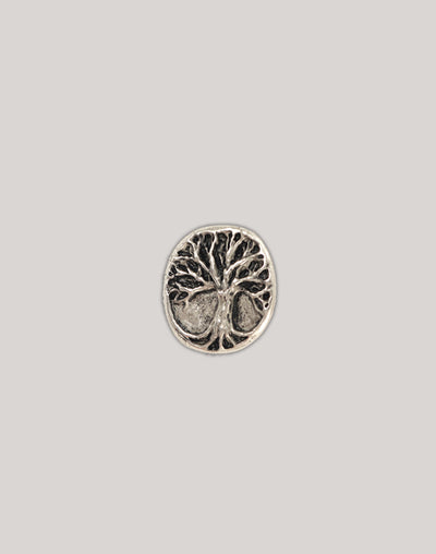 Tree Button, 20x19mm, (1pc)