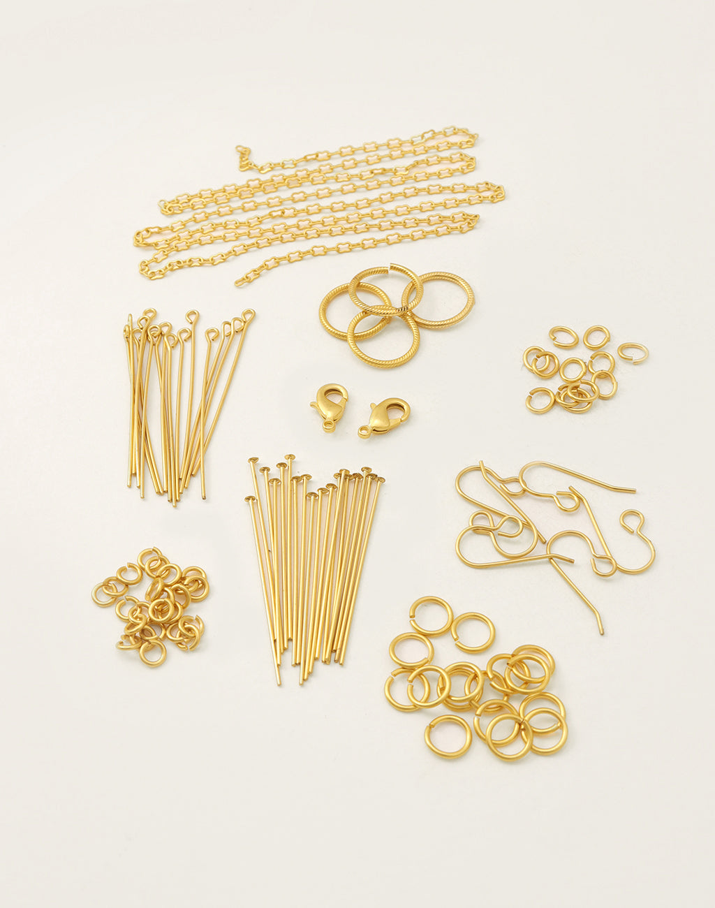 10K Gold Basics Findings Kit