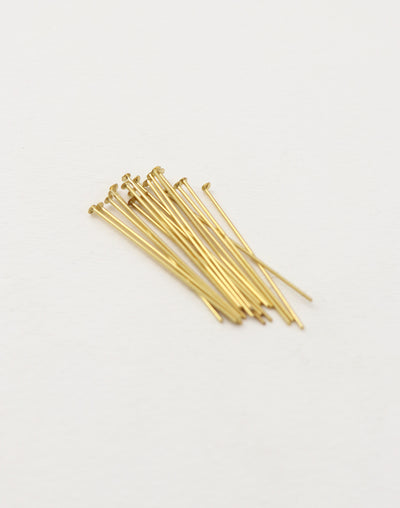 Head Pin, 1.5in, (18pcs)