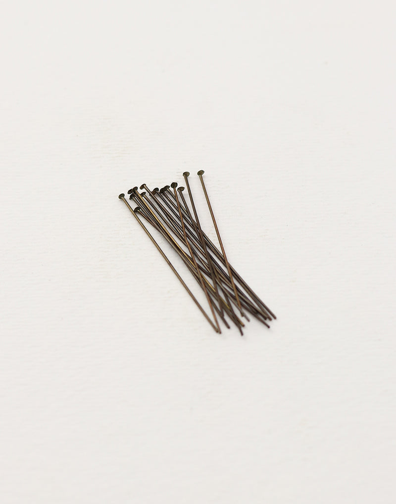 Pearl Head Pin, 1.5in, (15pcs)