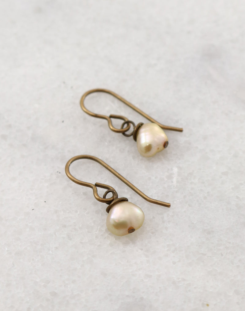 Precious Pearl Earrings, (1 pair)
