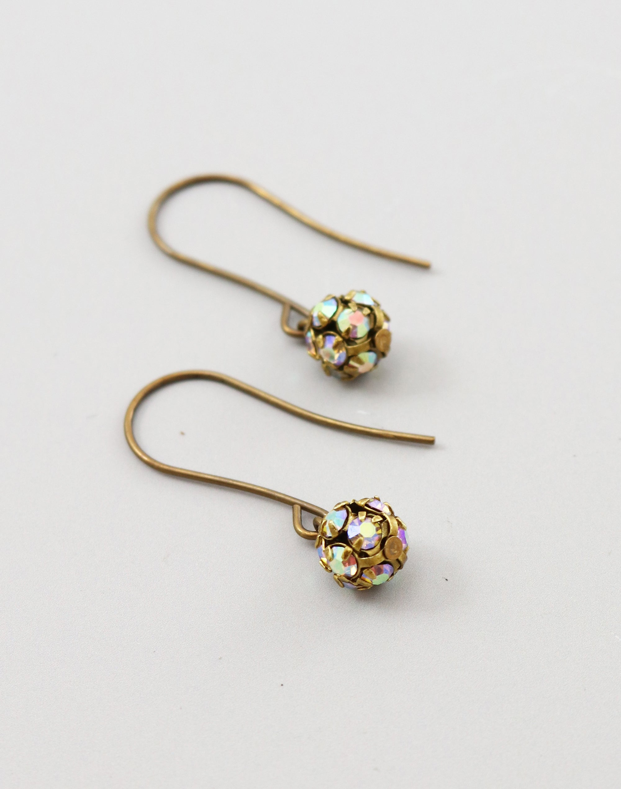 Gypsy Ball Earrings, (1 pair)