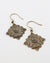 Secret Garden Earrings, (1 pair)