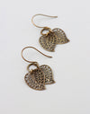 Fallen Leaves Earrings, (1 pair)