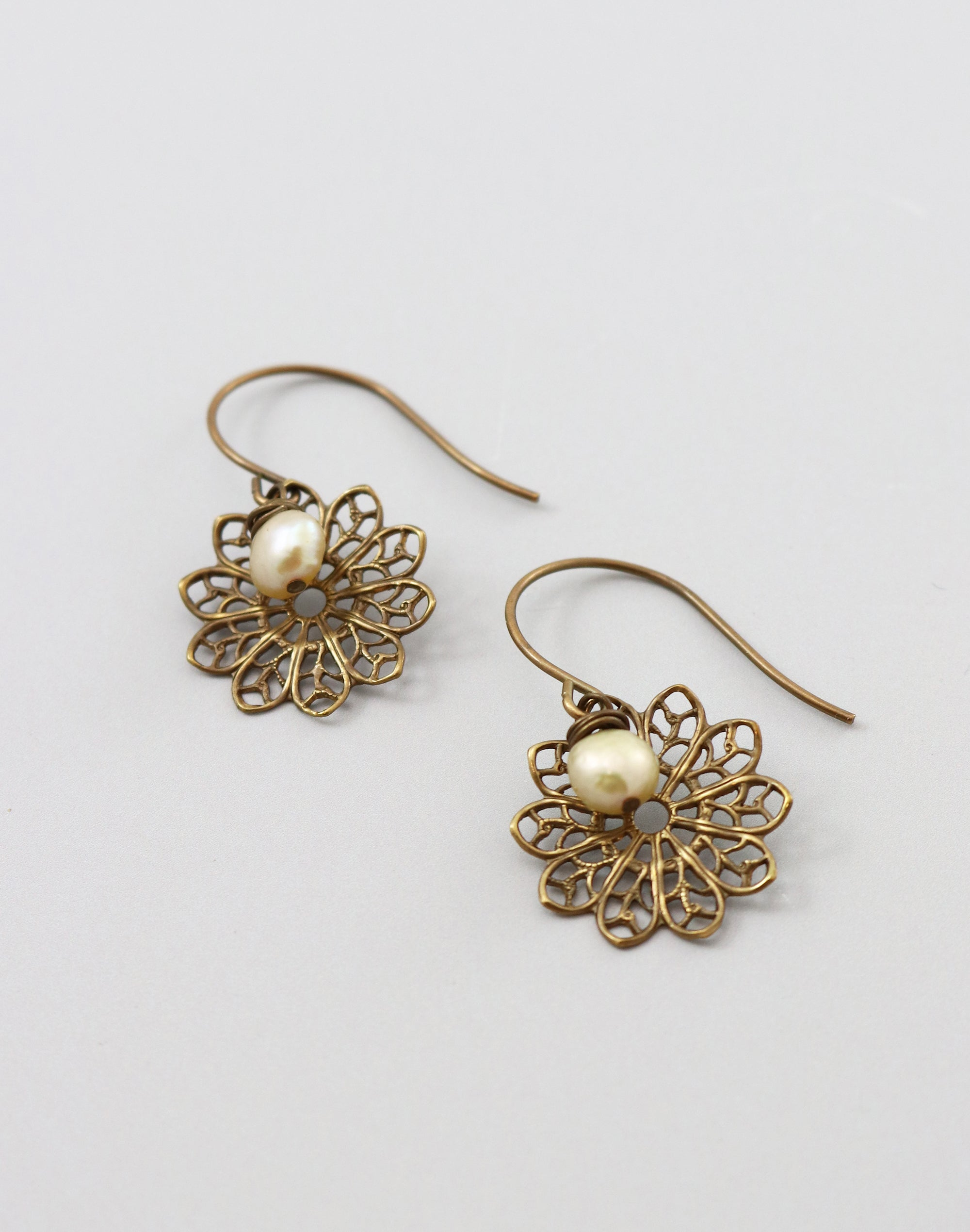 Precious Lace Earrings, (1 pair)