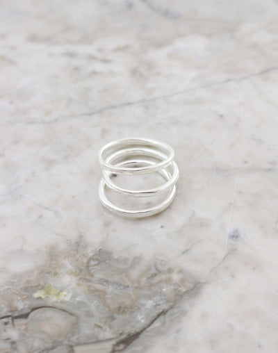 Stacking Ring, Size 8, (3pcs)