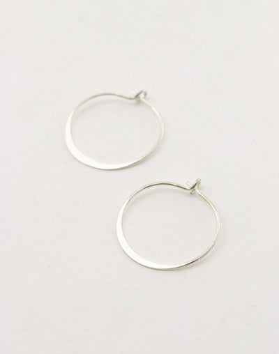 Hoop Earring, 21mm, (1 pair)
