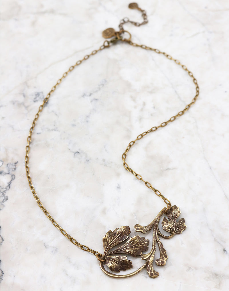Foliage Necklace, (1pc)