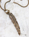 Feathered Necklace, (1pc)