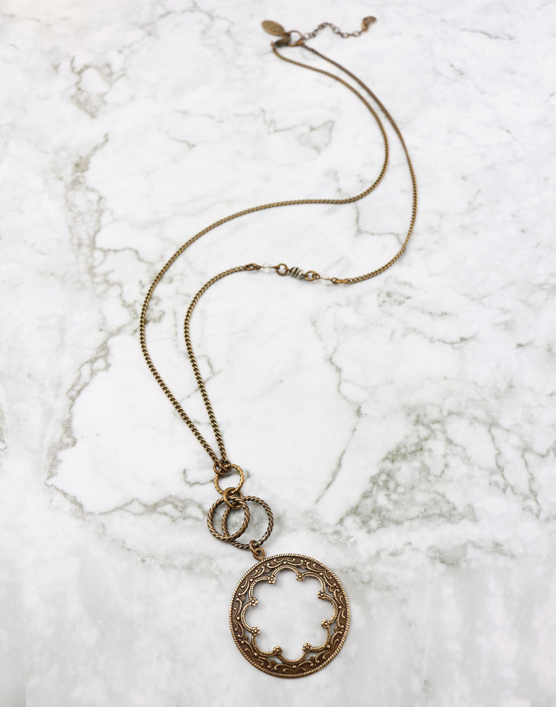 Framework Necklace, (1pc)