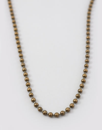 Ball Necklace, (1pc)