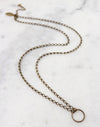 Roped Ladder Necklace, (1pc)