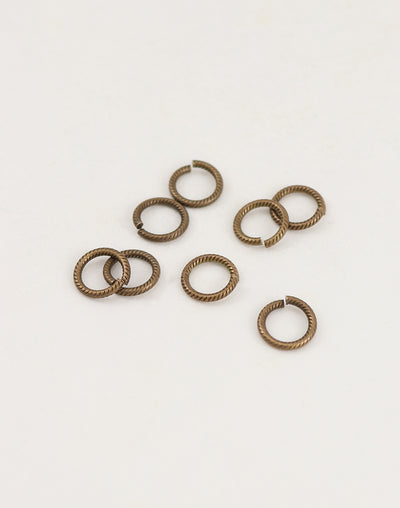 Cable Jump Ring, 9mm, 16ga, (8pcs)