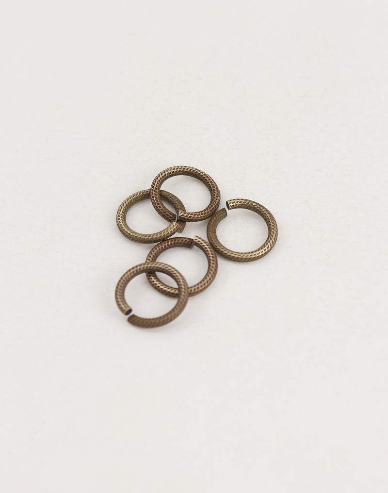 Cable Jump Ring, 11.25mm, 15ga, (5pcs)